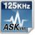 125KHz-ASK