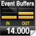 Event Buffers 14,000
