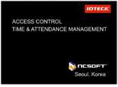Access Control and Time and Attendance Applicaion Case NC Soft (Seoul, Korea)